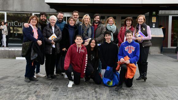 Sant Cugat posa el seu gra de sorra a la Marató de TV3