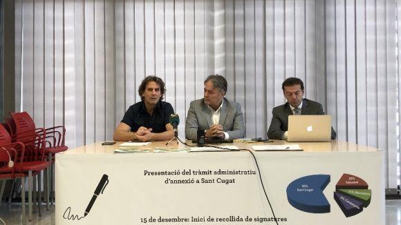 La iniciativa s'ha presentat en roda de premsa / Foto: Cugat.cat
