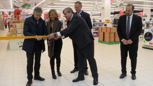Un any de l'obertura de Carrefour al Centre Comercial Sant Cugat