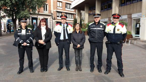 Mossos i Policia Local intensificaran la vigilància als eixos comercials per Nadal