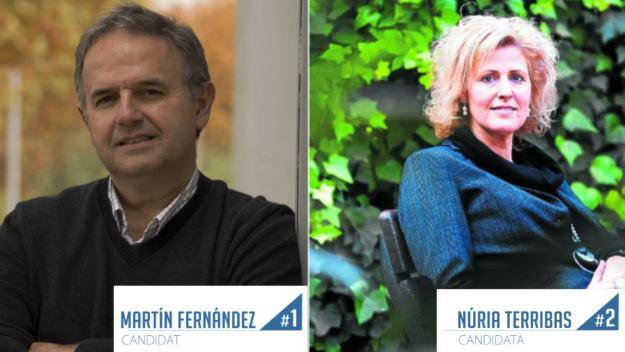 Terribas i Fernández pugnen per la presidència del Volei Sant Cugat en un debat tens