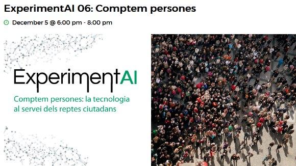 ExperimentAI 06: 'Comptem persones: com la visió artificial compta grans aglomeracions'