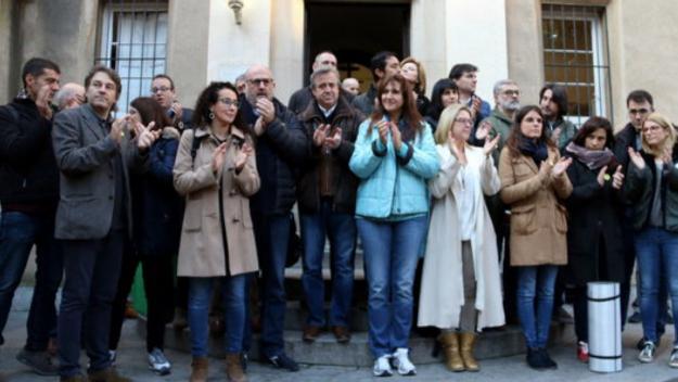 Calvet se suma al dejuni de 24 hores en suport als presos polítics