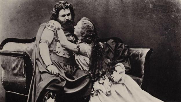 Imatge de l'òpera de Wagner 'Tristan i Isolda', de 1895 / Foto: Joseph Albert (PD)
