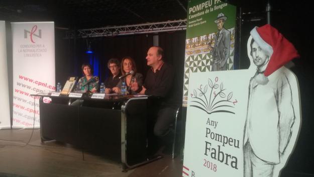 Pompeu Fabra reviu en un còmic que repassa la seva biografia
