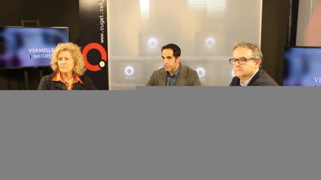 Imatge del debat a la presidència del Club Voleibol Sant Cugat