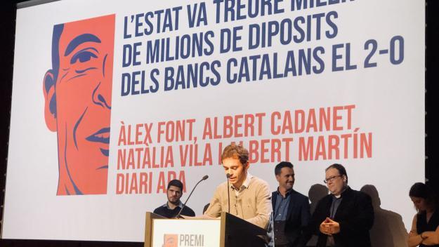 Lliurament dels Premis Barnils de 2018 / Foto: Cugat Mèdia