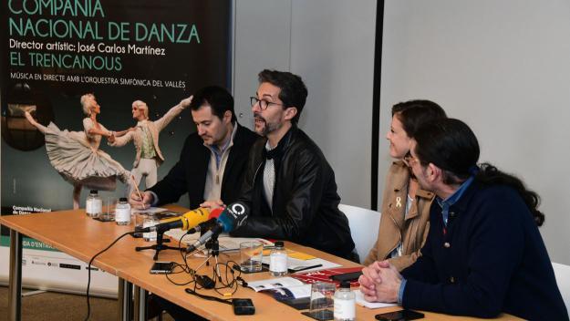 La Compañía Nacional de Danza es retroba amb el Teatre-Auditori amb 'El Trencanous'