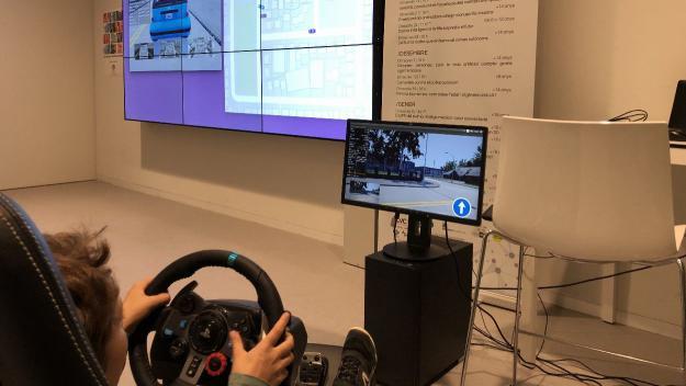 Un simulador de conducció per entrenar els cotxes autònoms