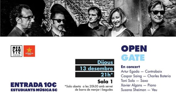 Jazz a El Siglo: Open Gate