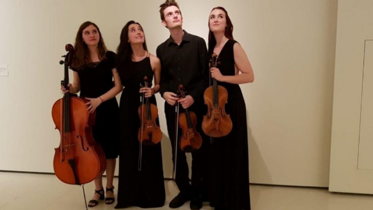 El Quartet Diotima tocarà a l'Ateneu / Foto: Cedida per Ateneu Santcugatenc