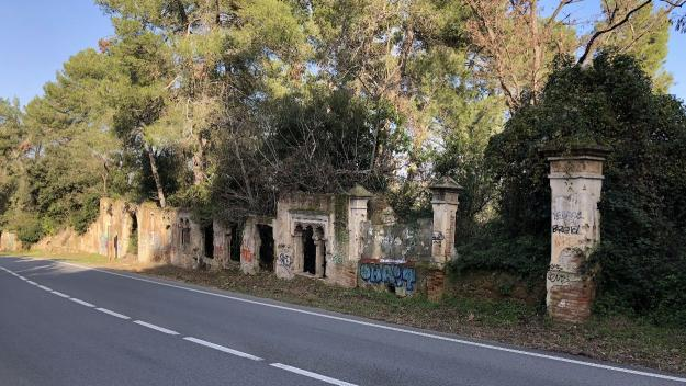 El Gran Casino de la Rabassada, les ruïnes d'un somni burgès