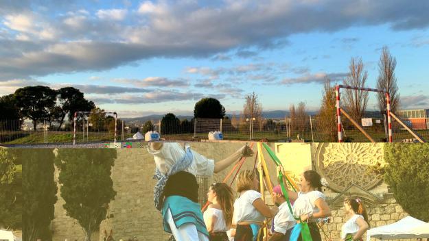 Comença la construcció d'una pista esportiva al Turó de Can Mates