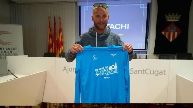 Jaume Leiva és un dels favorits per guanyar la Sant Silvestre / Font: Cugat.cat