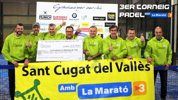 El 3er Torneig padelxlamarató ha batut rècord de participants i de recaptació / Font: Toni Foixench