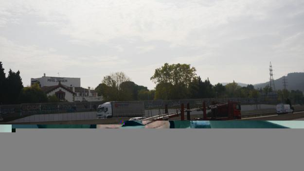 Les obres per a l'enllaç de l'A-2 i l'AP-7 a Castellbisbal, més a prop