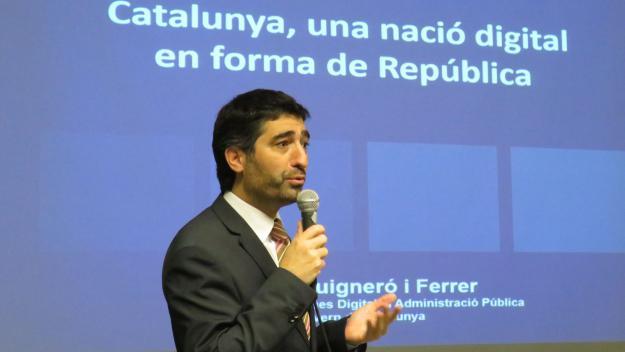 Jordi Puigneró: 'Impulsarem un projecte de donació de dades'