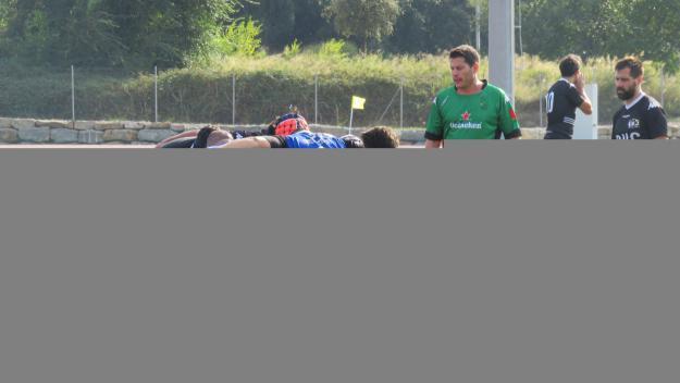 El Club Rugby Sant Cugat es desfà amb solvència del Tecnidex València i entra en zona de play-off
