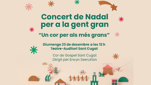 Nadal: Concert de Nadal per a la gent gran