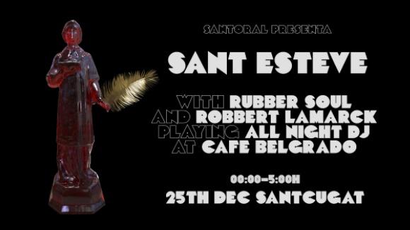 Nadal: Santoral presenta Sant Esteve a Cafè Belgrado
