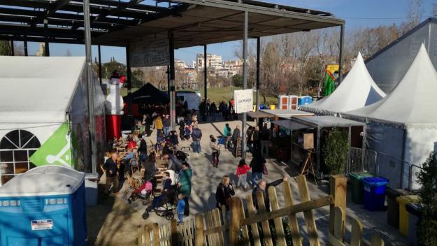 L'Envelat de Nadal centralitza les activitats familiars del cap de setmana / Foto: Cugat.cat