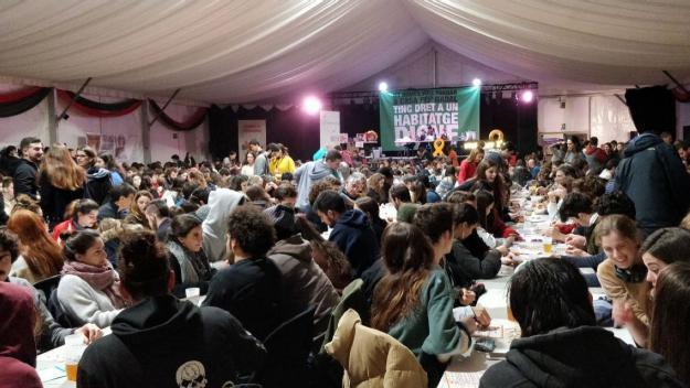 Cal Temerari reivindica la cultura popular amb el Quinto de Nadal