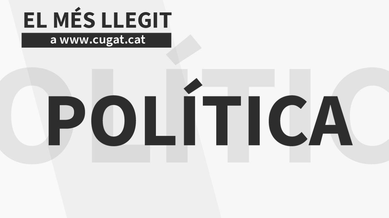 Les cinc notícies de política més llegides el 2018
