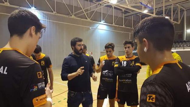 David López és el seleccionador català juvenil d'handbol / Font: David López