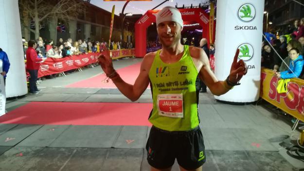 Jaume Leiva, guanyador de la darrera edició de la Sant Silvestre / Font: Sant Silvestre