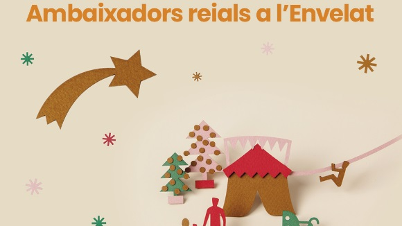 Nadal a l'Envelat: Visita de l'Ambaixador Reial