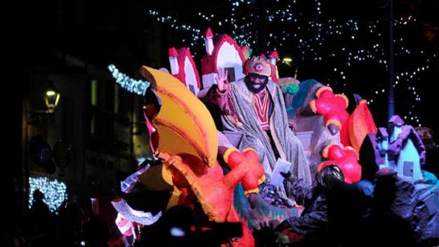 Imatge d'arxiu de l'última cavalcada de Reis a Sant Cugat / Foto: Localpres