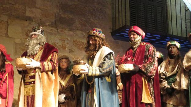 Els Reis d'Orient han portat els seus presents al Nen Jesús / Foto: Cugat.cat