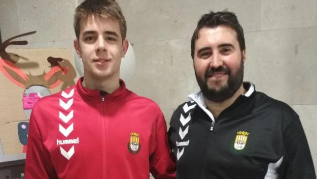 David López i Guillem Pallarés, campions d'Espanya juvenil d'handbol amb Catalunya