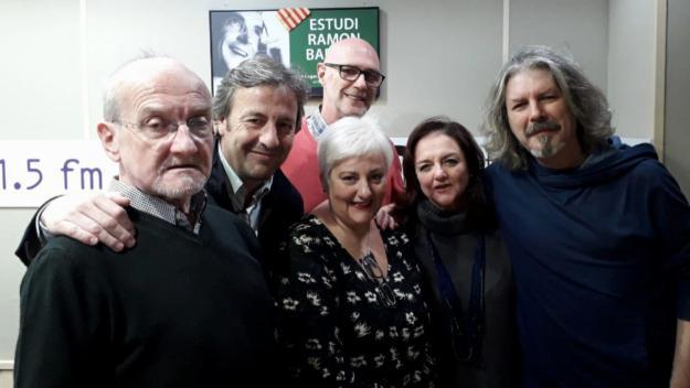 Imatges dels participants i presentadors del programa / Foto: Cugat.cat