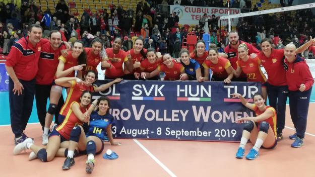 Aina Berbel es classifica per a l'Europeu de voleibol amb la selecció espanyola