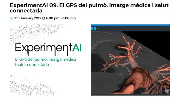 ExperimentAI 09: 'El GPS del pulmó: imatge mèdica i salut connectada'