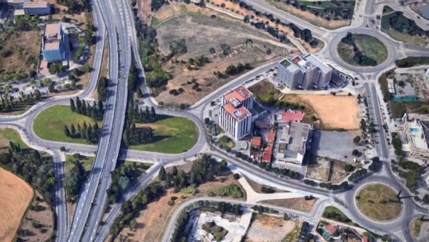 Tall de trànsit entre les rotondes de l'Hipòdrom i del Xic aquest dimarts