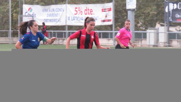 Imatge d'un partit del SantCu d'aquesta temporada / Foto: Cugat.cat