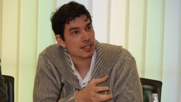 El regidor no adscrit Dimitri Defranc al consistori / Foto: Localpres