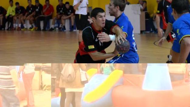 Marc Jordán, convocat amb la selecció catalana absoluta d'handbol per jugar davant el Granollers