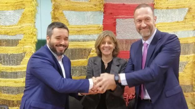 Apialia Sant Cugat, nou patrocinador del planter masculí de la UESC per a dues temporades