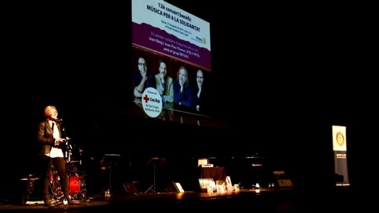 Solidaritat i música es conjuren al Teatre-Auditori contra la pobresa