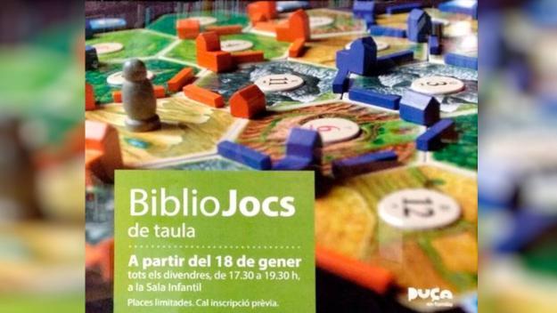 ANUL·LAT! BiblioJocs de Taula