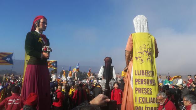 El Joan i la Marieta visiten els polítics presos en el seu últim cap de setmana a Lledoners