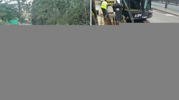 L'EMD arranja la zona de la riera de Can Cabassa després de les fortes pluges