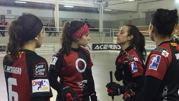 El Patí Hoquei femení suma un important triomf a la pista del Vilanova B