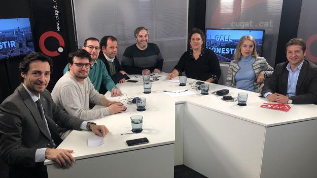 Participants a la tertúlia / Foto: Cugat.cat