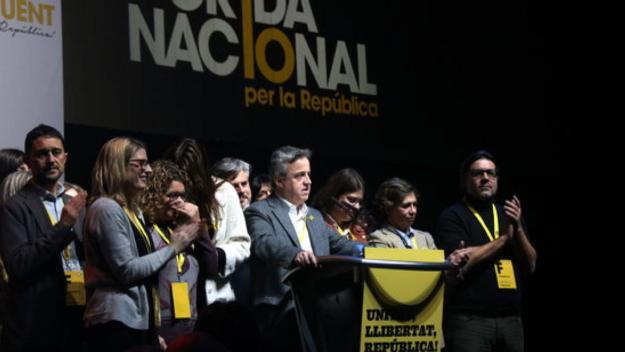 Damià Calvet, a la direcció de la Crida Nacional per la República