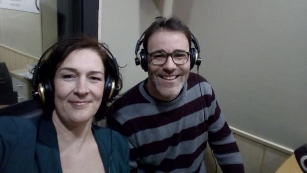 Eugeni Castaño, amb Susanna Garcia / Foto: EdBuilding