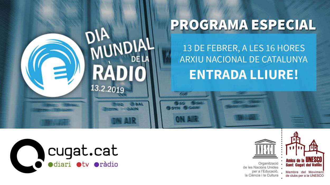 Cugat.cat celebra el Dia Mundial de la Ràdio amb un programa especial de 'Connectats'